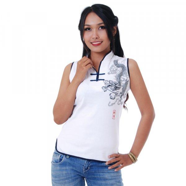 Asia Tai Chi Yoga Drachen T-Shirt