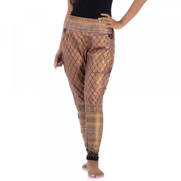 Traditionelle Thai Damen Hose Lai Tep Panhom