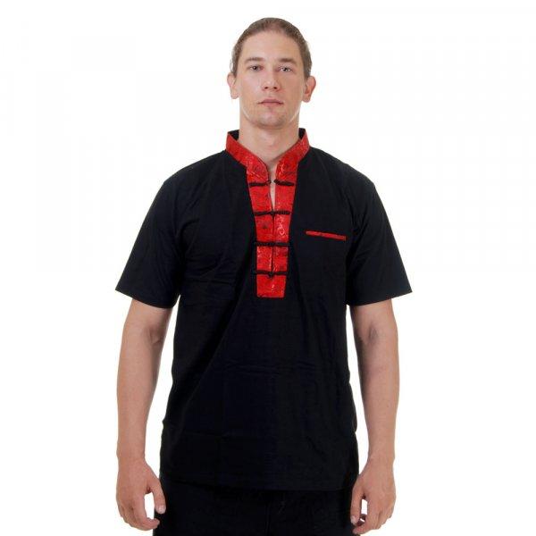 Kung Fu & Tai Chi Shirt Schwarz