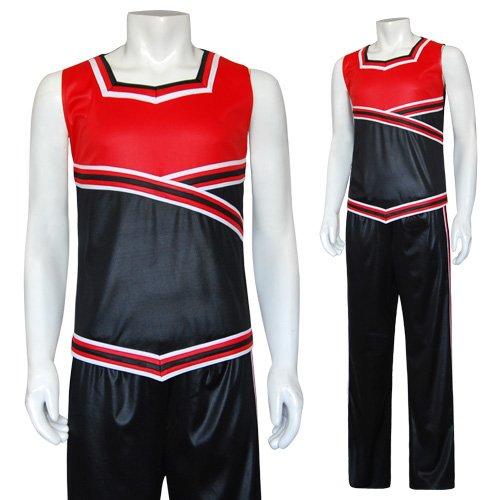 Herren Cheerleader Kostüm Raylan
