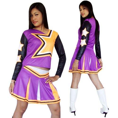 Cheerleader Cheerleading Kostüm Amanda