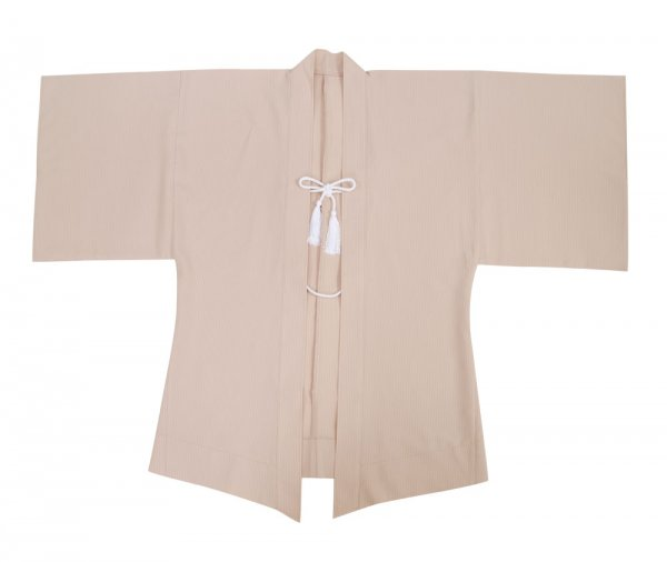Haori Kimono Jacke Beige