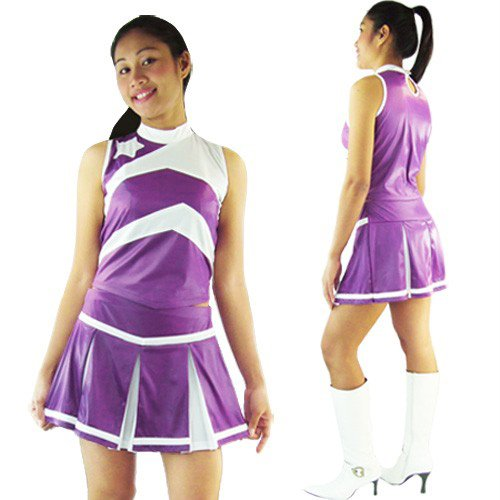 Cheerleader Cheerleading Kostüm Vicky