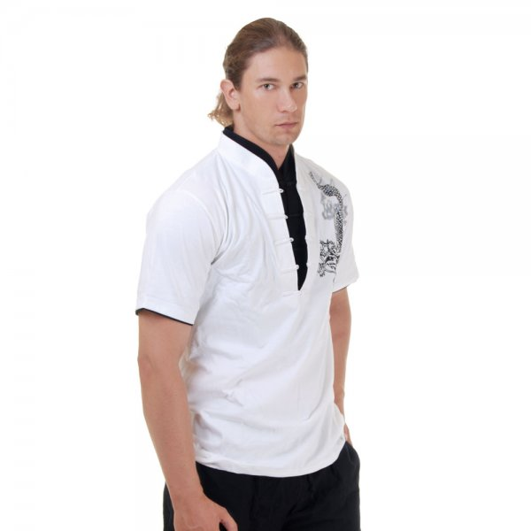 Kung Fu & Tai Chi Shirt Weiß