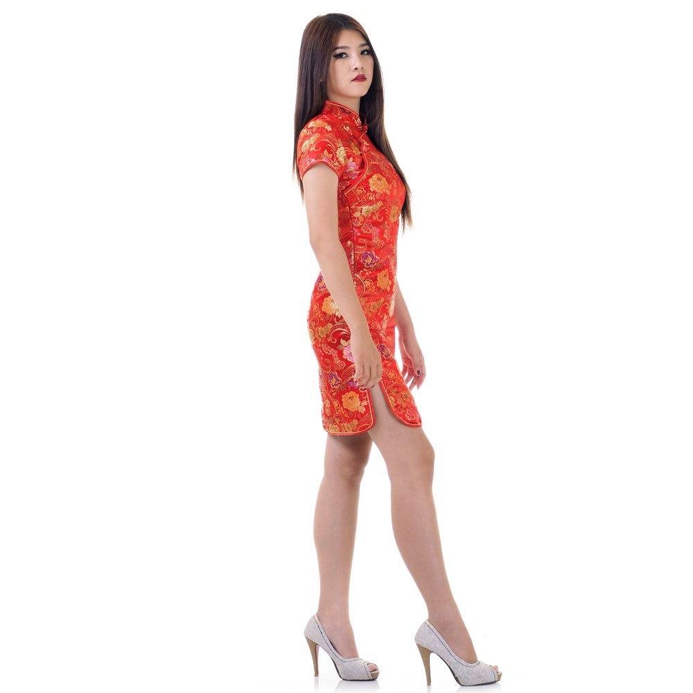 China Qipao Kleid Rot | Princess of Asia | Mode & Fashion ...
