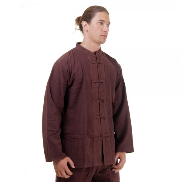 Kung Fu & Tai Chi Shirt Braun