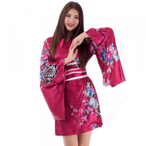 Kurzer Damen Kimono Sakura