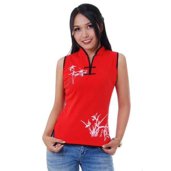 Asia Tai Chi Yoga Bambus T-Shirt