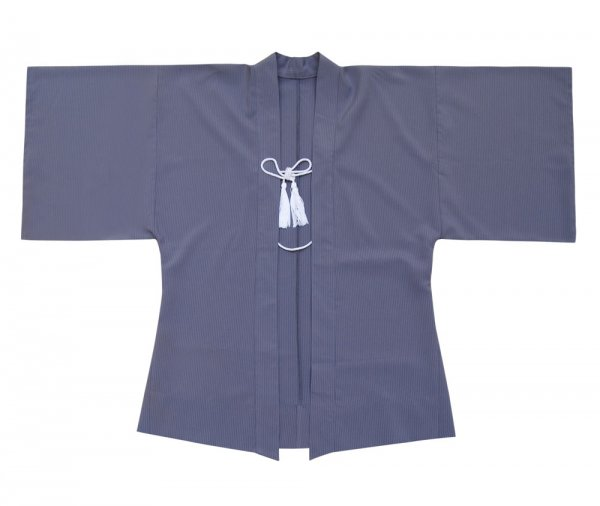 Haori Kimono Blaugrau