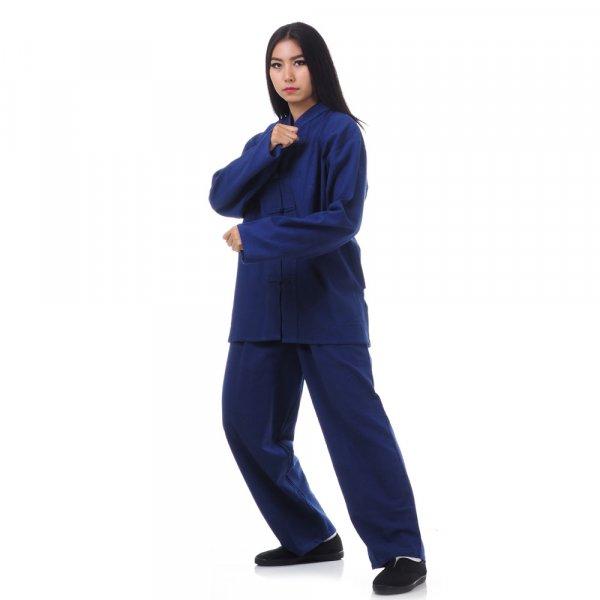 damen kung fu tai chi anzug blau princess of asia. Black Bedroom Furniture Sets. Home Design Ideas