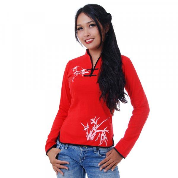 Asia Tai Chi Yoga Bambus Sweatshirt