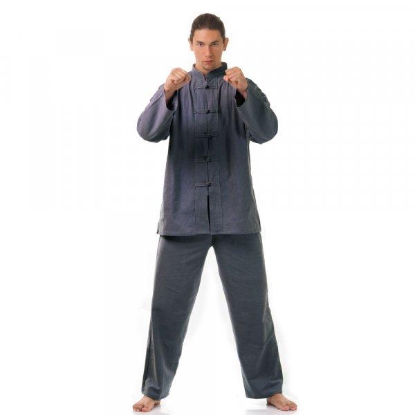 Kung Fu & Tai Chi Anzug Grau
