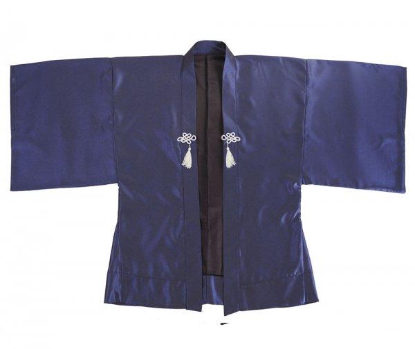 Haori Kimono Jacke Blaugrau