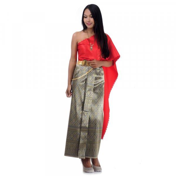 Thai Seiden Kleid & Kostüm