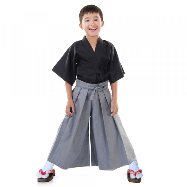 Jungen Samurai Kimono Kostüm