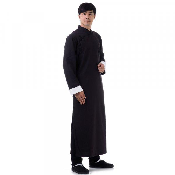 Langer Kung Fu Mantel & Tai Chi Jacke