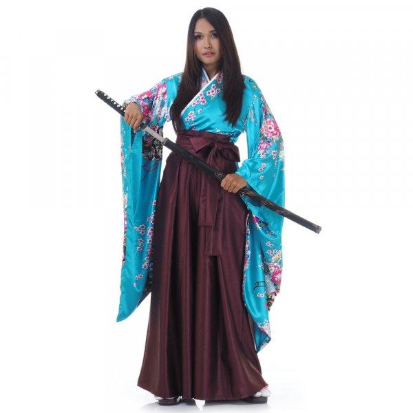 Geisha Kimono Kostüm Kanna