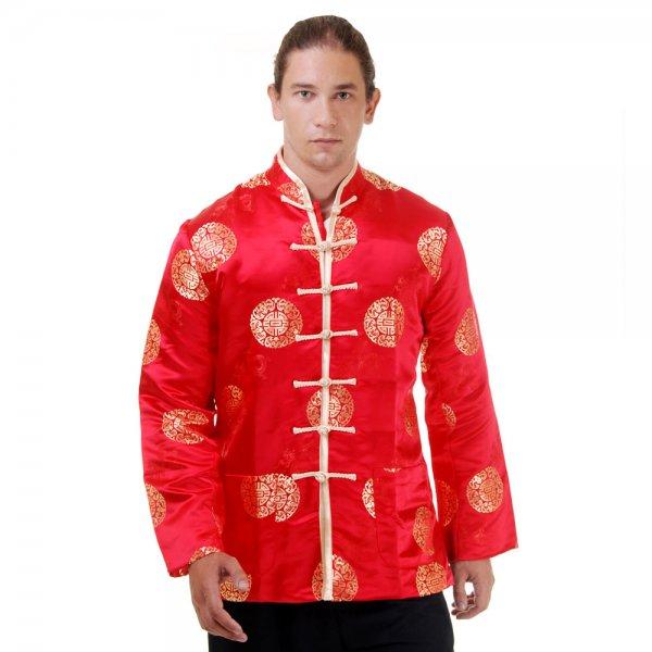 Kung Fu & Tai Chi Jacke Rot