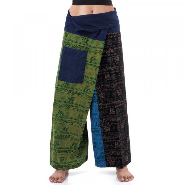 Thai patchwork Jeans Fischerhose Spirit of Om