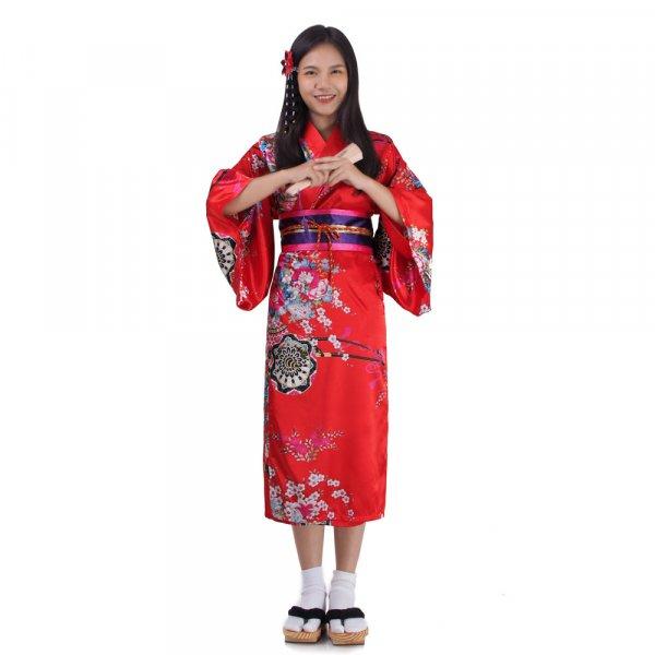 Mädchen Yukata Kimono Sakura