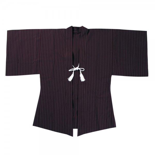 Haori Kimono Jacke Weinrot