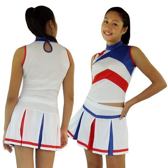 Cheerleader Cheerleading Kostüm Crystal
