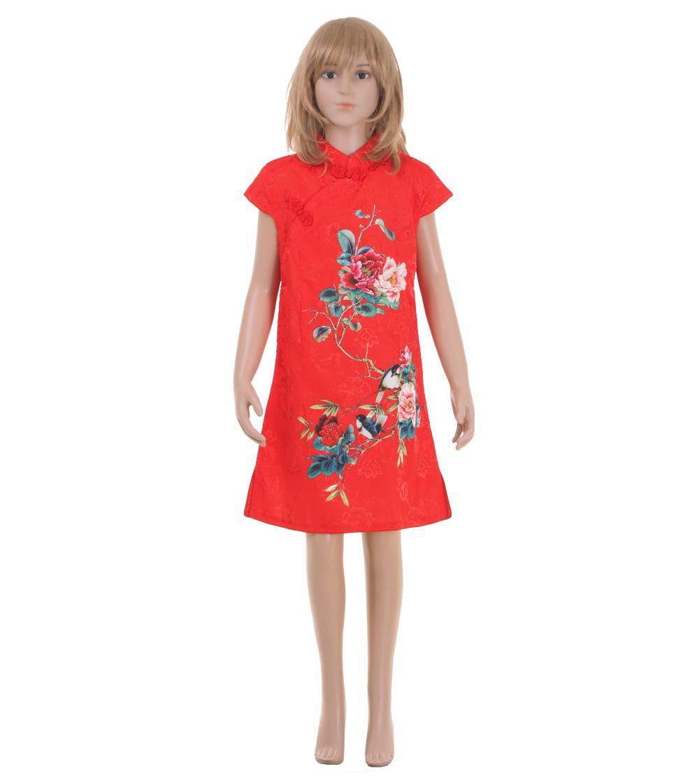 China Qipao Asia Kleid Rot | Princess of Asia | Mode ...