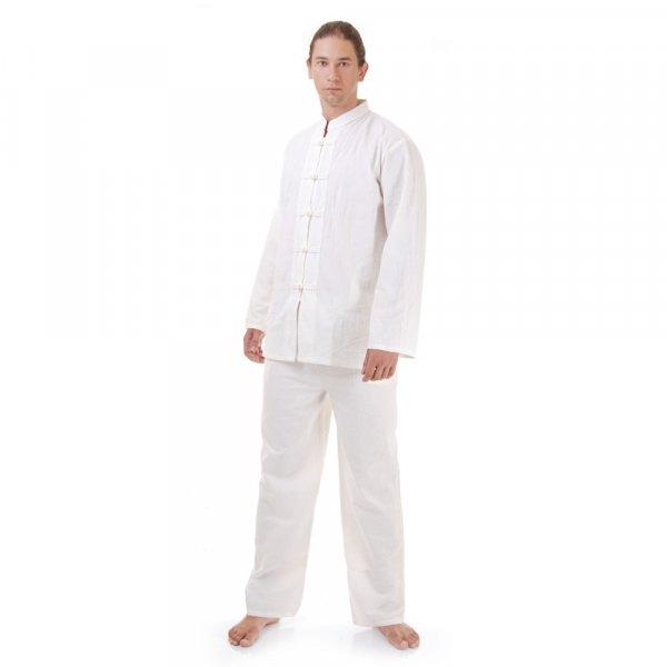 Kung Fu & Tai Chi Anzug Weiß