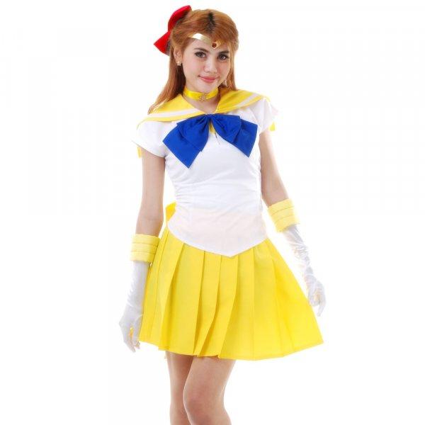 Sailor Venus Cosplay Kostüm