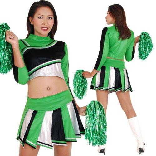 Cheerleader Cheerleading Kostüm Amber