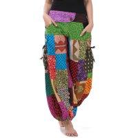 Patchwork Aladinhose Farbenwunder