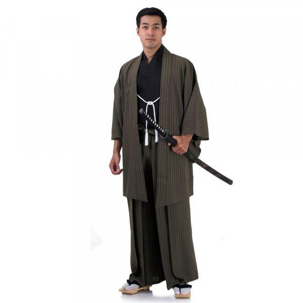 Samurai Kimono Hakama Set Ronin