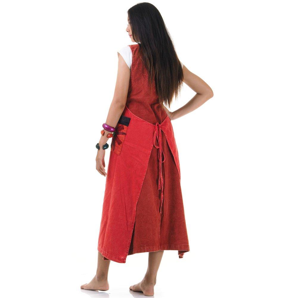 jeans hippie kleid wickelkleid rot weinrot princess of. Black Bedroom Furniture Sets. Home Design Ideas