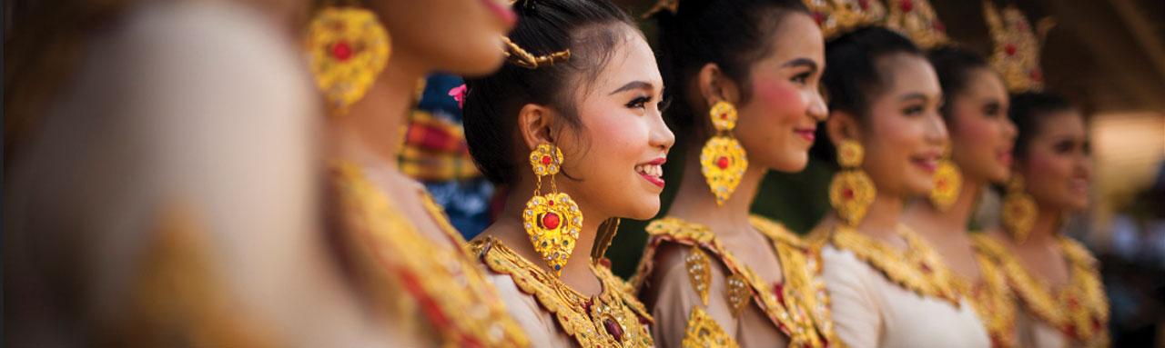 Traditionelle Thai Kleider